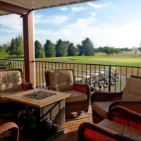 Clubhouse Patio & Hole 9 Green